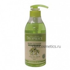 Гель для душа с экстрактом Акации / Deoproce Well-Being Aroma Body Cleanser Acacia 1000g