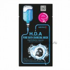 Маска для лица с экстрактом угля для проблемной кожи / Mediface H.D.A pore bath charcoal mask 25ml