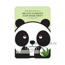 Маска тканевая для лица с экстрактом Алоэ / Milatte Fashiony Mask Sheet Aloe 21g