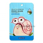 Маска тканевая для лица с муцином слизи улитки / Milatte Fashiony Snail Mask Sheet 21g