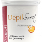 Сахарная паста для шугаринга ультрамягкая / Depil Sweet Sugar Paste Ultrasoft 800g