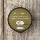 Маска - скраб для лица с экстрактом красного Киви  в капсуле / Innisfree Capsule recipe pack - red kiwi 10ml
